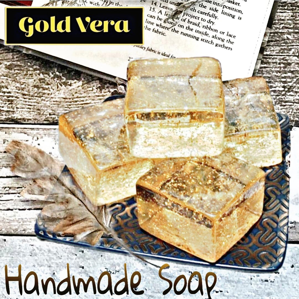24k Gold Facial Soap