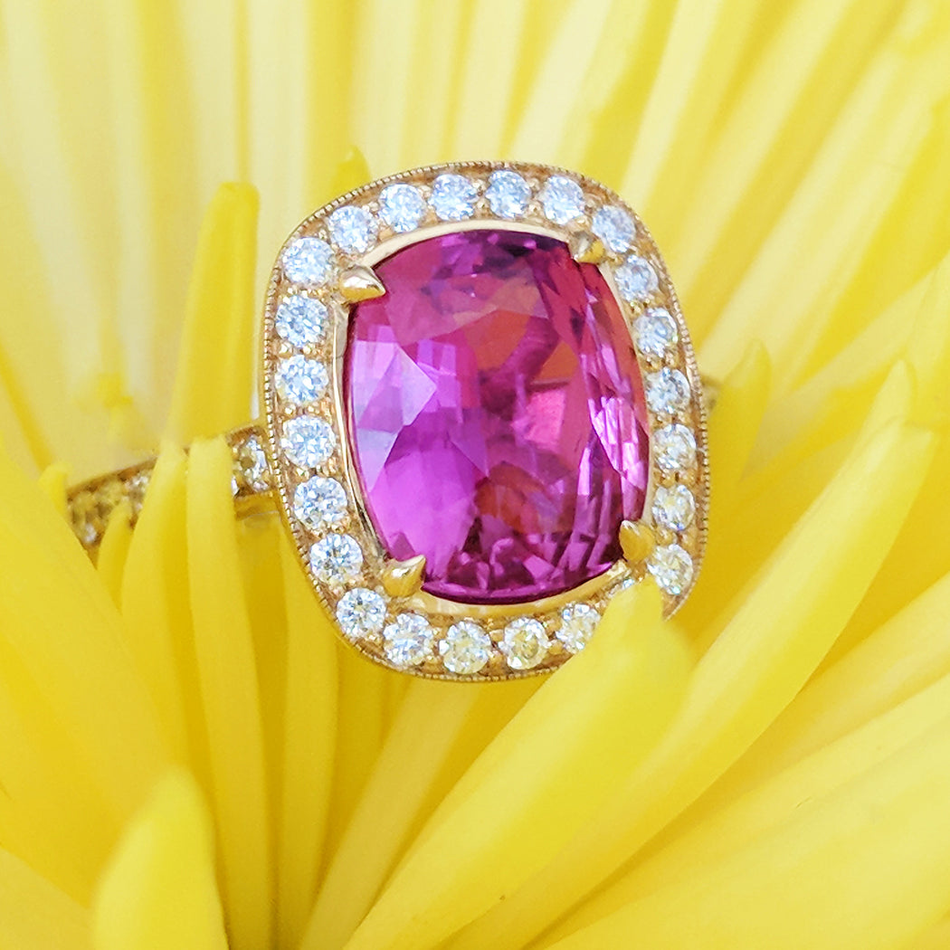 Pink Orchid Sapphire