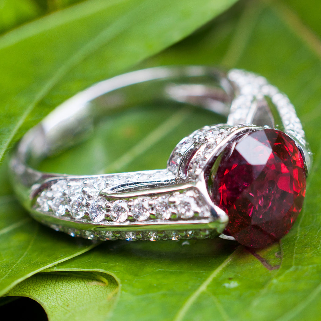 Bright Burmese Red Spinel