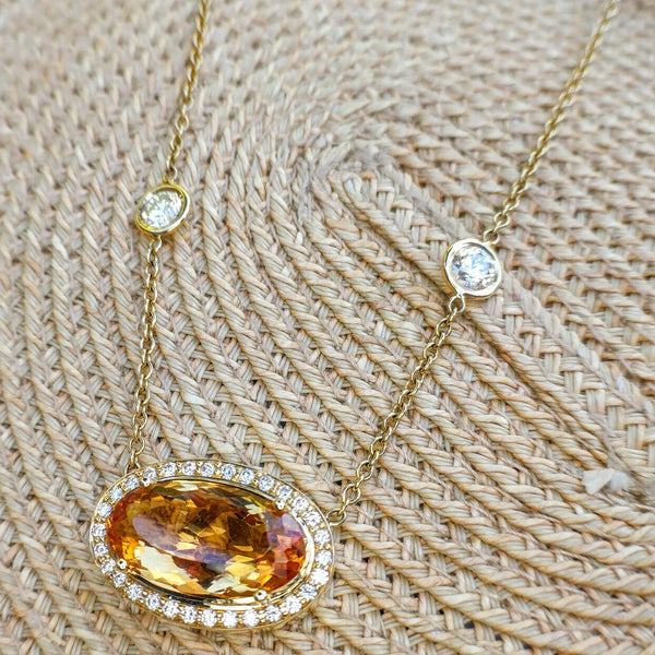 Precious Topaz Necklace