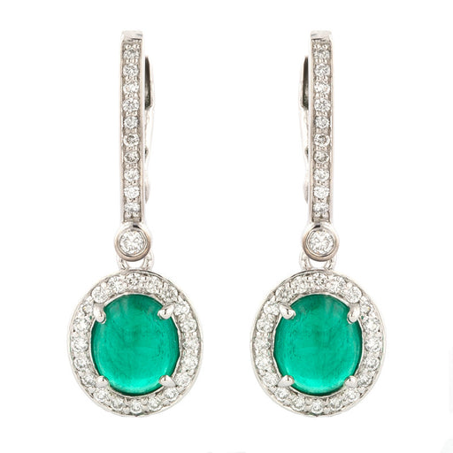 Night and Day Emerald Earrings