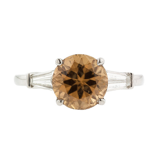 Honey Zircon Ring