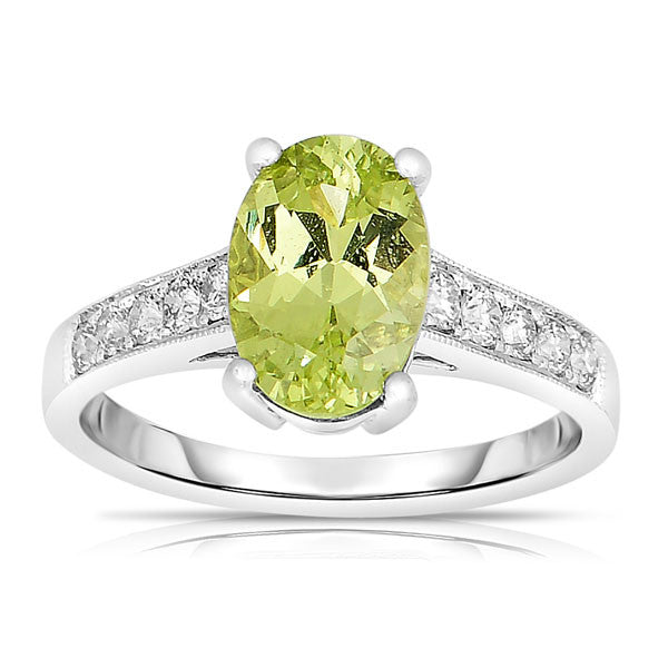 Unique Color Chrysoberyl  Ring