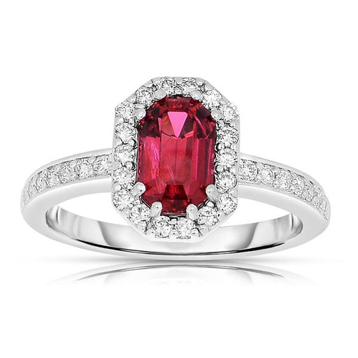 Mogok Red Spinel Ring
