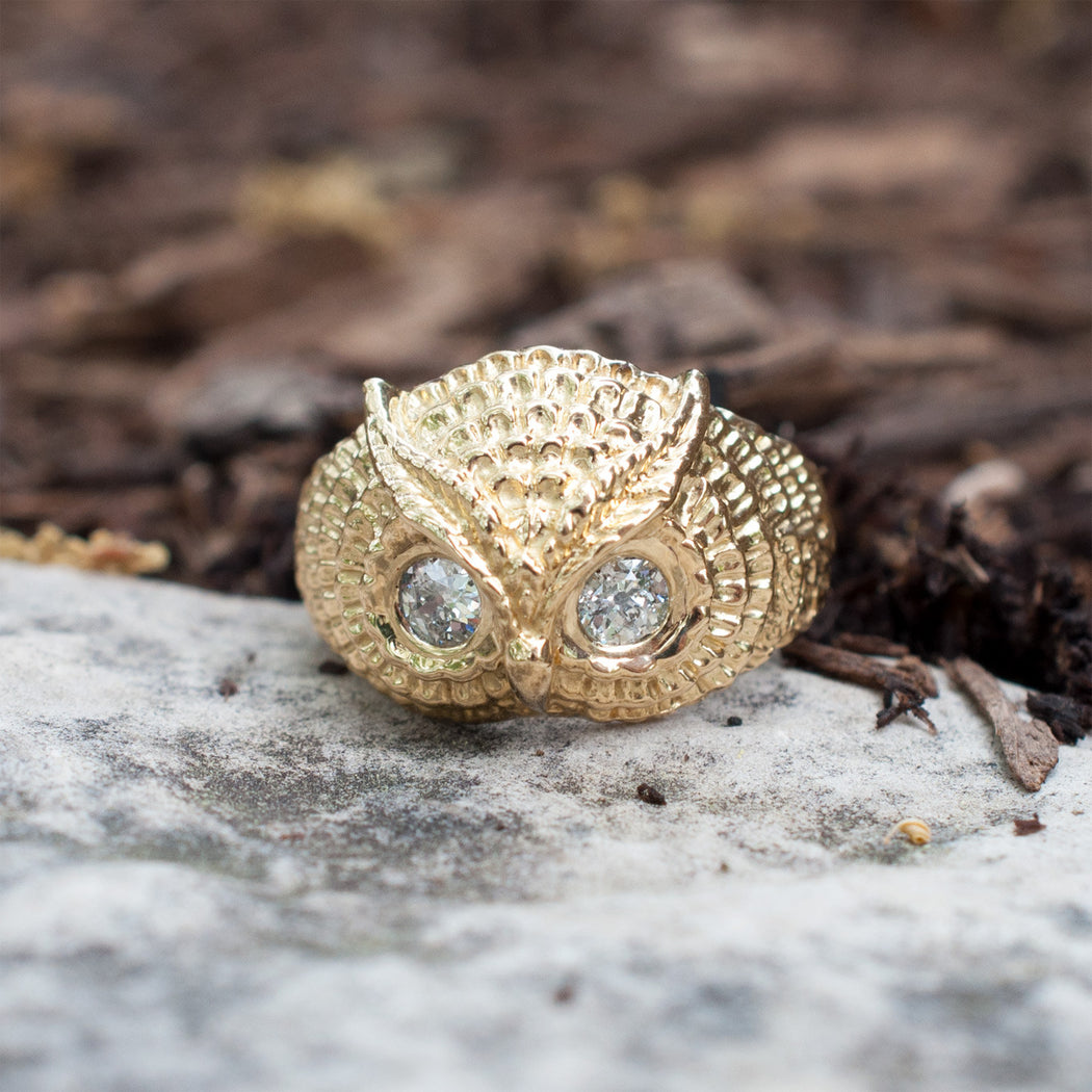 Owl Buddy Ring