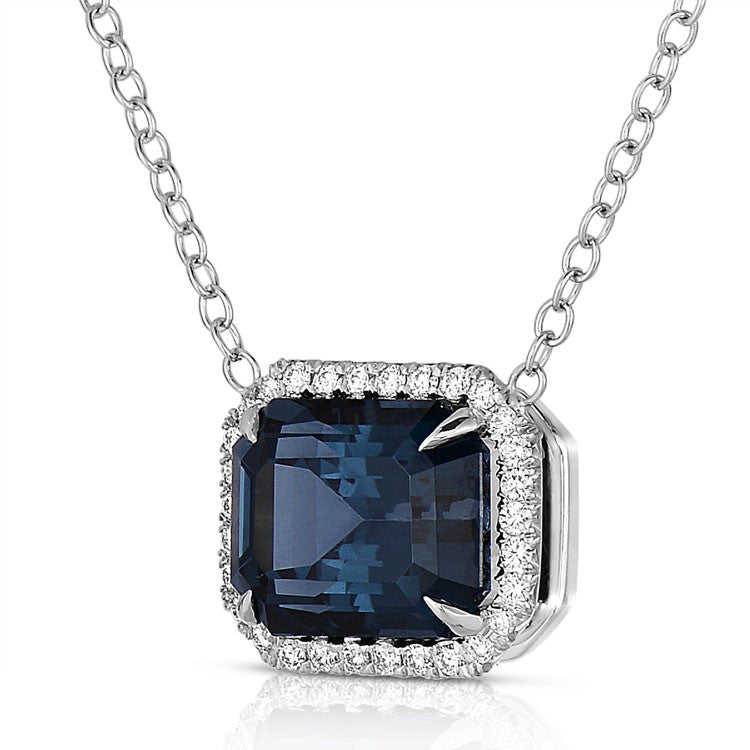 Cobalt Spinel Necklace