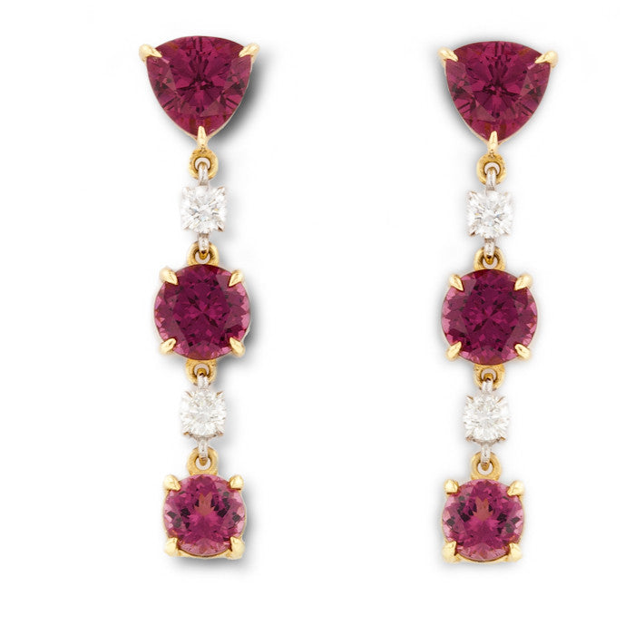 Port Wine Umbalite Earrings
