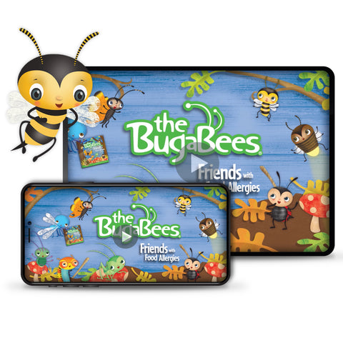 The BugaBees: Friends with Food Allergies | Animated Storybook