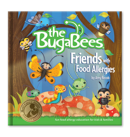 The BugaBees: Friends with Food Allergies | Softcover Book