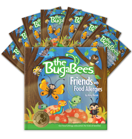 The BugaBees: Friends with Food Allergies | Softcover Book (25-pack)