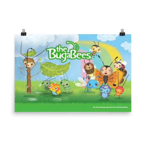 The BugaBees Friends Poster - Large
