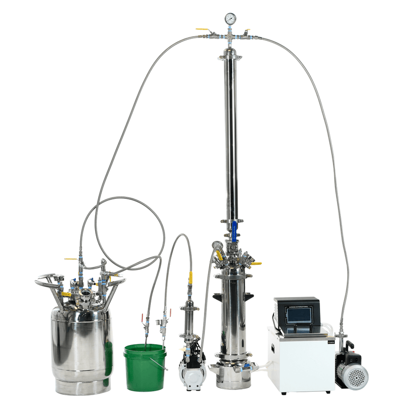 Pathfinder Series - 1 to 3 lb Hydrocarbon Extraction Closed-Loop System - CLP-3/1 - Xtractor Depot