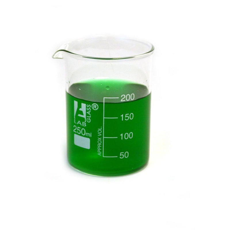 Graduation Glass Beaker with Spout - Xtractor Depot