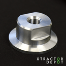 "KF25 to 1/8""FNPT (Adapter for DigiVac Bullseye) - Xtractor Depot"