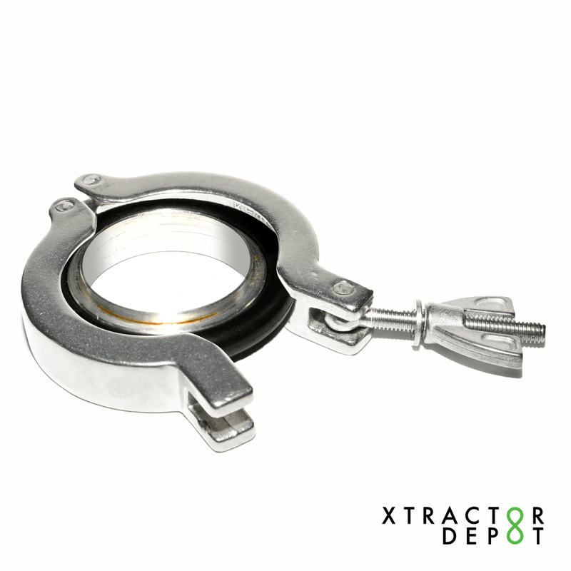 Quick Clamp w/ O-Ring Sealing - Xtractor Depot