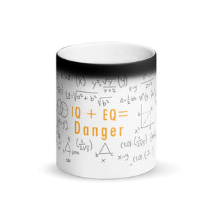 IQ Matte Black Magic Mug