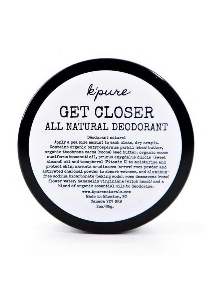Get Closer Natural Deodorant- Original