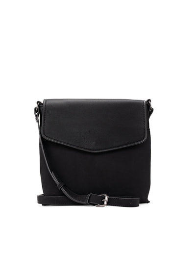 Suede Crossbody, Black