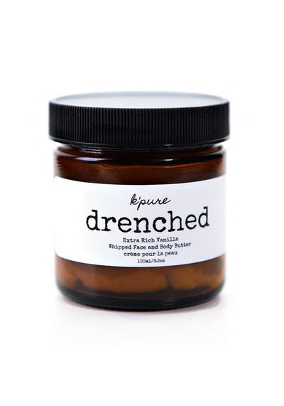 Drenched Whipped Face and Body Butter - Vanilla