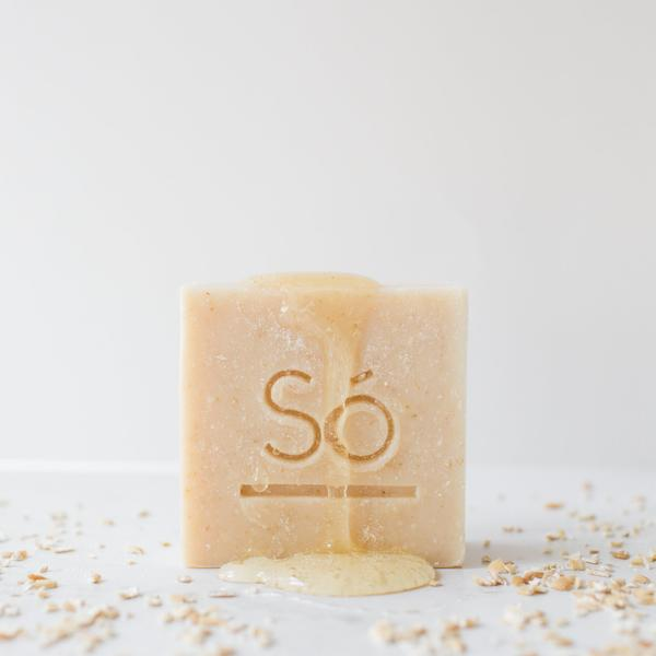 Cleansing Bar Honey Oat