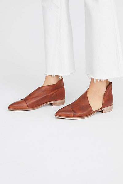 Royale Flat - Leather