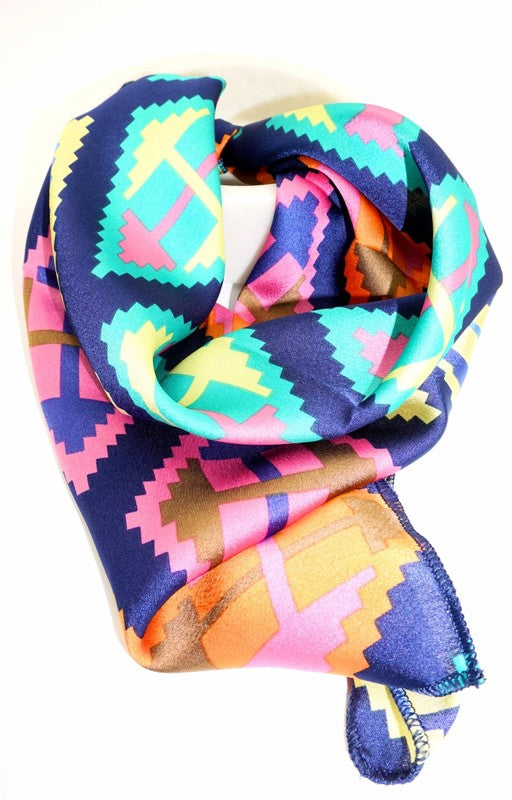Be Bright Aztec Scarf