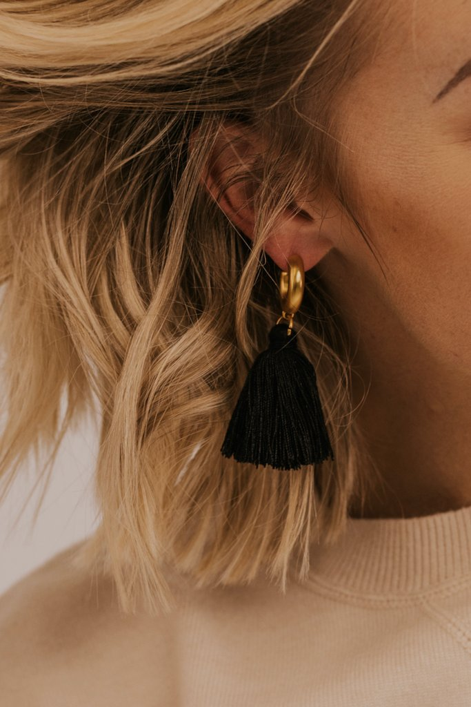 Holly Tassel Earrings