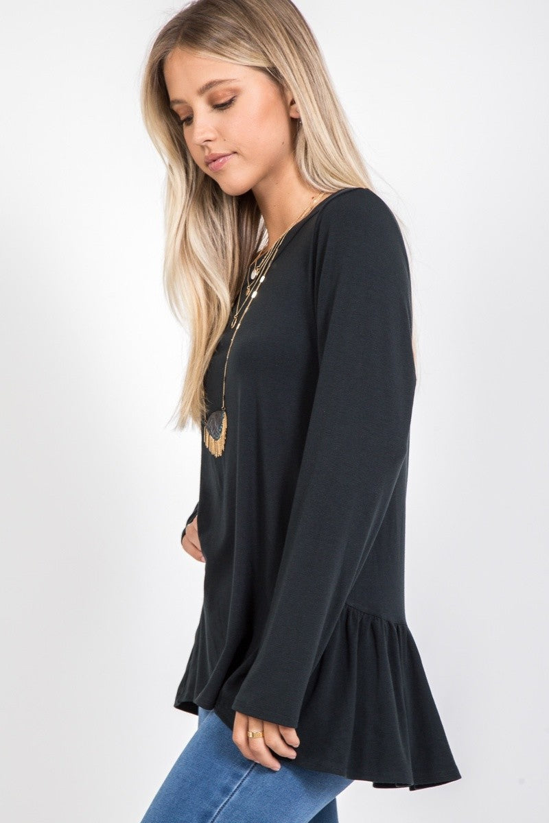 Riley Ruffle Top