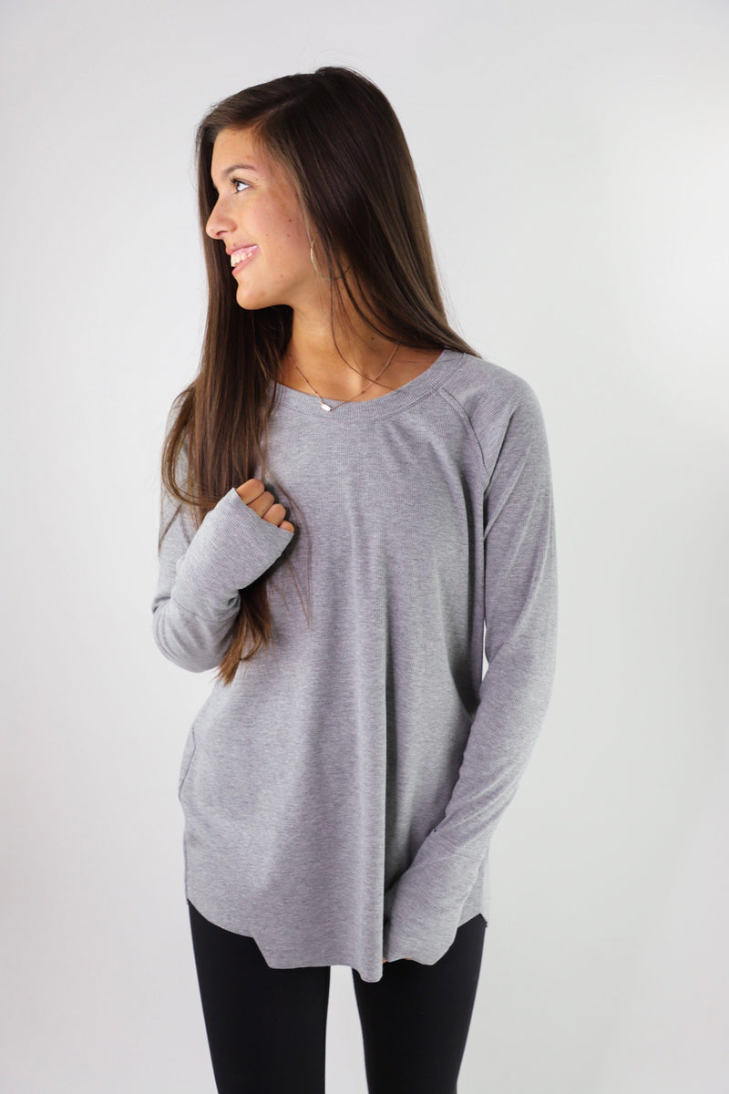 Collins - Ribbed Tunic