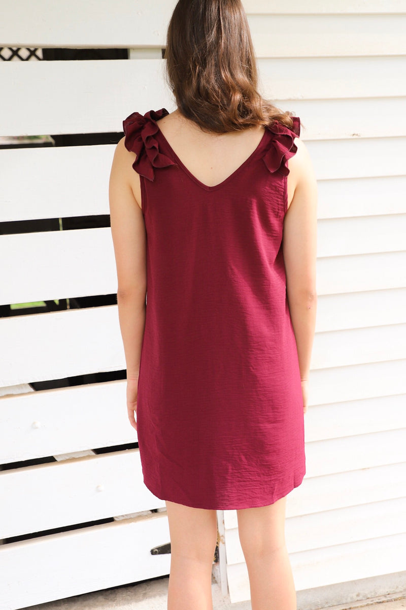 Howdy Ruffle Dress