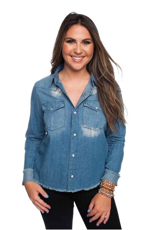 Danielle Denim Shirt