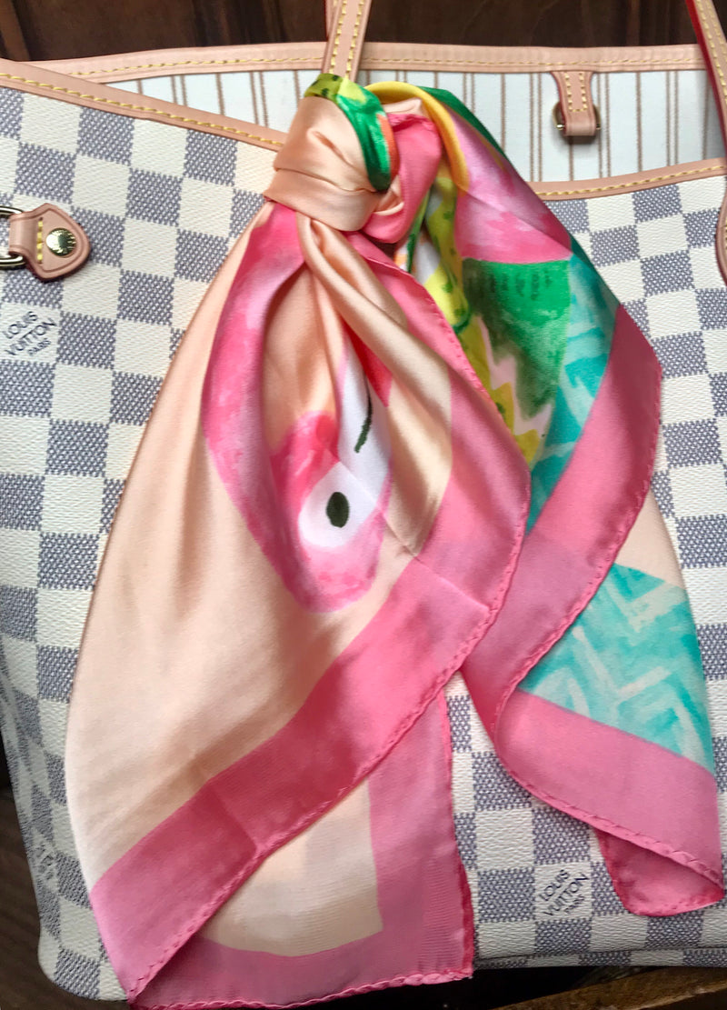 Zero Flocks Given Flamingo Scarf