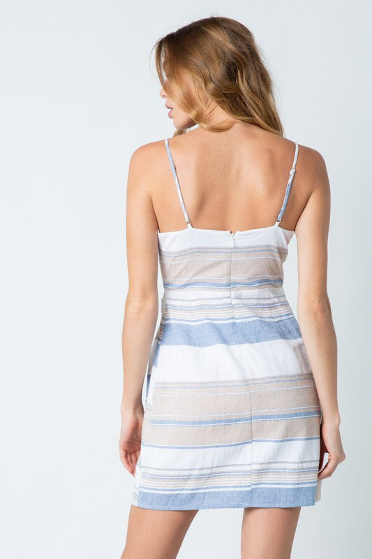 Ashton Striped Dress