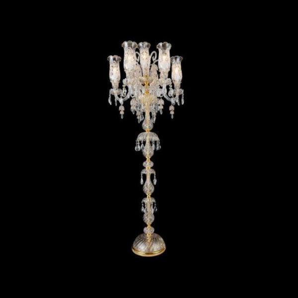 5 ft Murano Floor Lamp