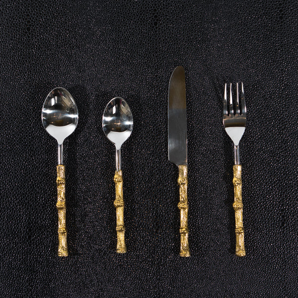 Bamboo Cutlery Set - 6 Person Set