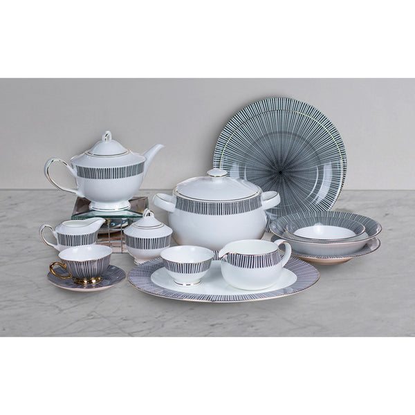 D' Max 51 pc Crockery Set