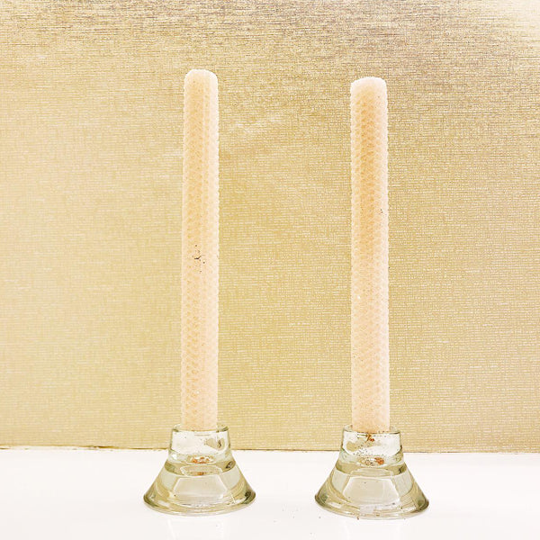 Glitter Candles - Almond