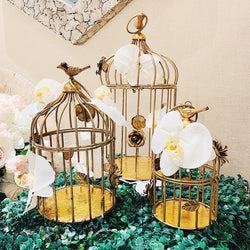 Gold Cage- Large
