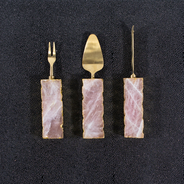 Quartz Serving Cutleries