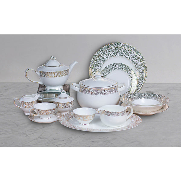 The El'my 51 pc Crockery Set