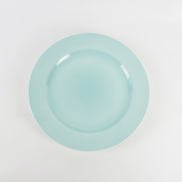 Round Plate Paste Green