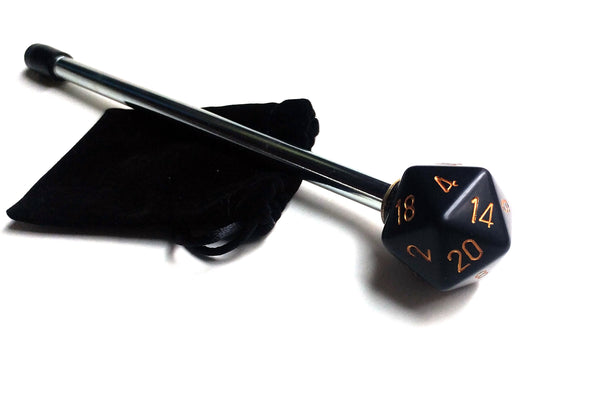 DUNGEONS AND DRAGONS 20 SIDED DICE SHOOTER