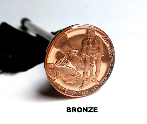 HOUDINI COMMEMORATIVE BRONZE COIN SHOOTER