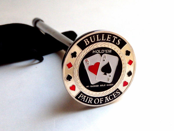 BULLETS CARD GUARD SHOOTER ROD