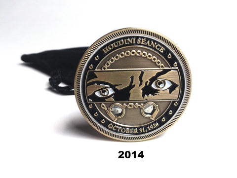 HOUDINI SEANCE COIN 2014 SHOOTER