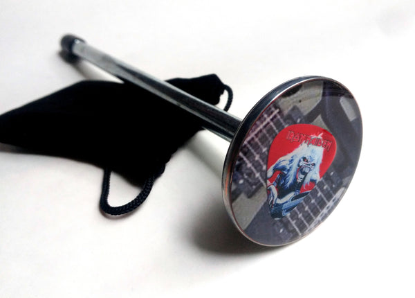 IRON MAIDEN GUITAR PICK SHOOTER ROD