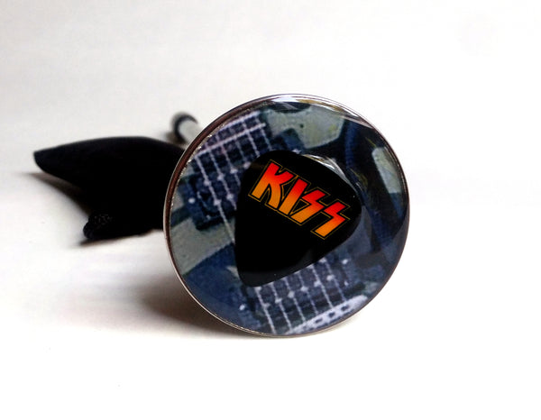 KISS GUITAR PICK SHOOTER ROD