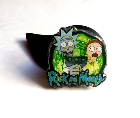 RICK AND MORTY LAUNCH BUTTON MOD
