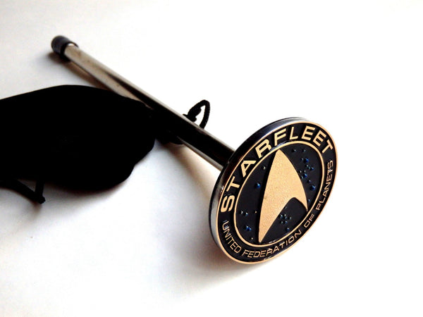STAR TREK - STARFLEET W/ STARFIELD SHOOTER ROD