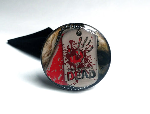 WALKING DEAD DOGTAGS SHOOTER ROD